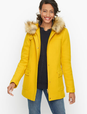 Faux Fur Hooded Albury Parka
