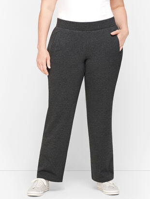 Pima Terry Relaxed Leg Pants