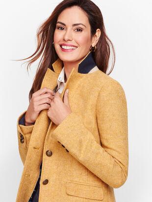 Shetland Wool Blazer - Herringbone