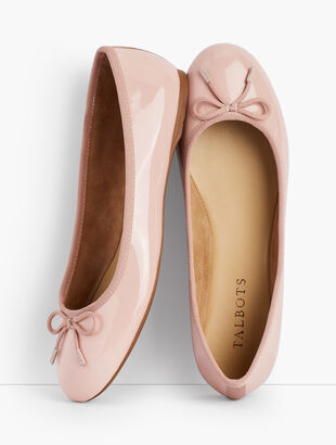 Penelope Ballet Flats - Patent Leather