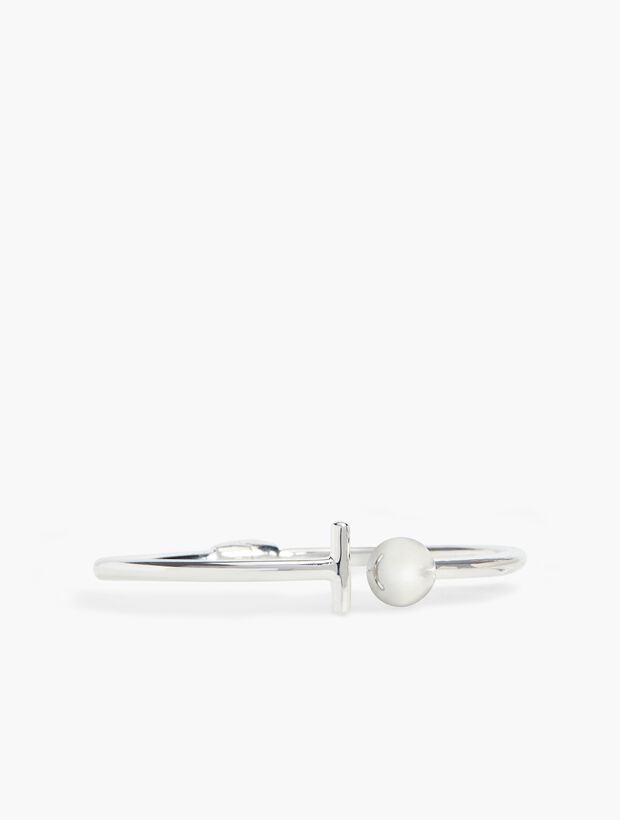 Ball Bangle - Sterling Silver