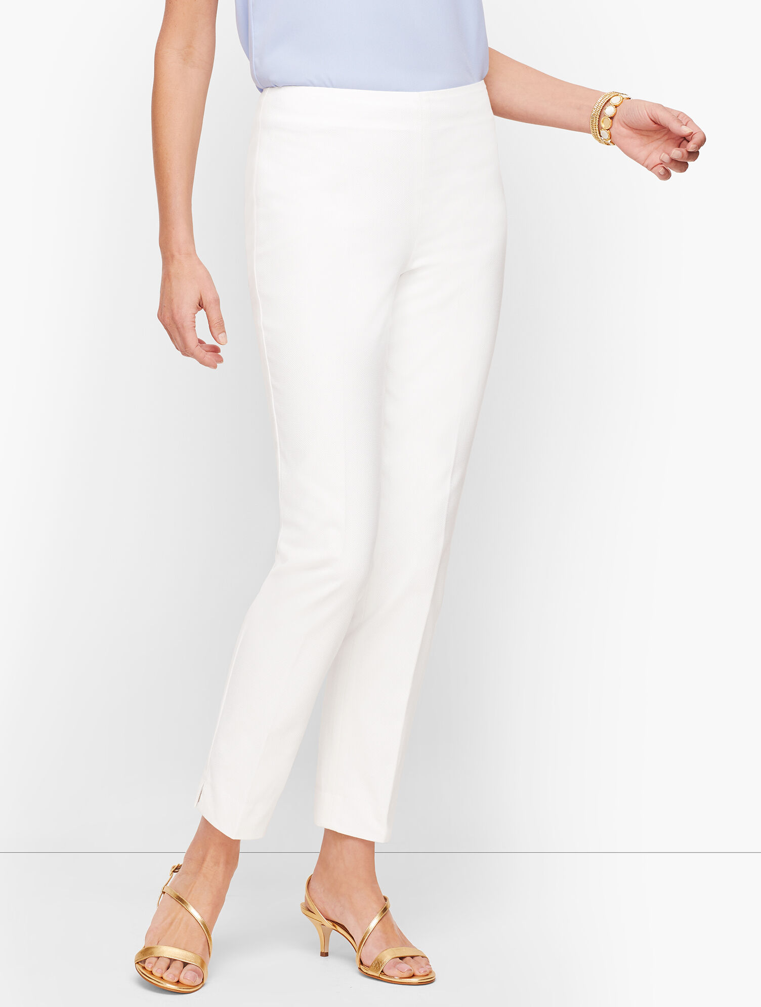 Biscay Slim Ankle Pants Talbots