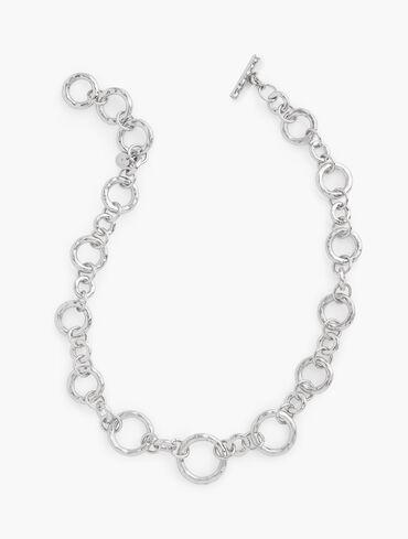 Hammered Short Necklace