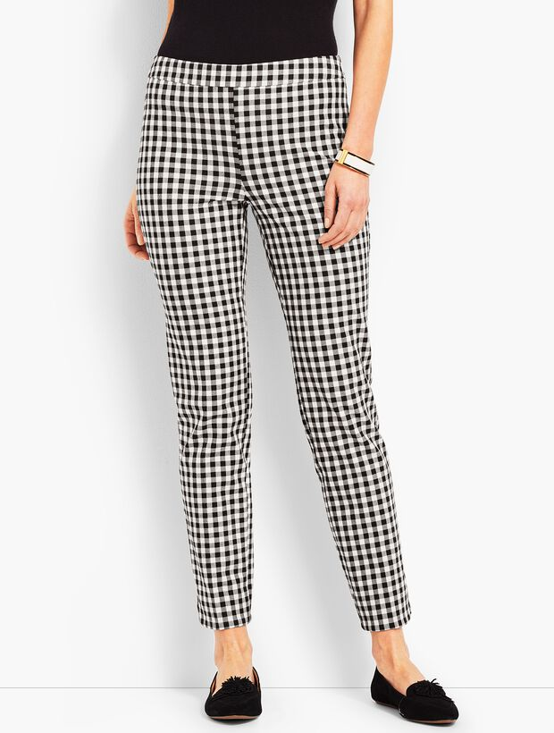 Talbots Chatham Ankle - Gingham