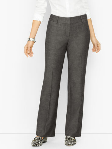 Talbots Newport Pants - Textured - Curvy Fit