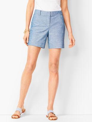 Perfect Shorts - Short Length - Chambray