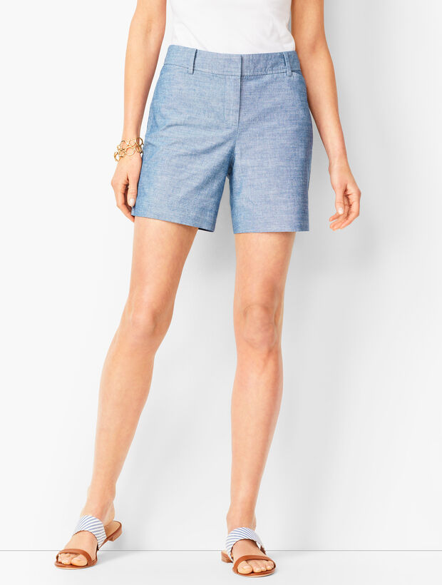 Perfect Shorts - Short Length - Chambray