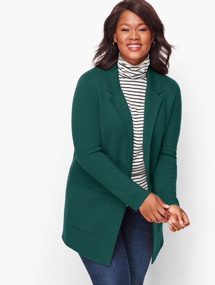 Open Sweater Blazer