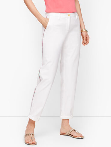 Relaxed Chinos - Side Trim