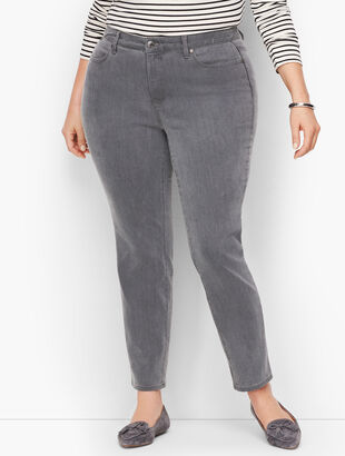 Slim Ankle Jeans - Cadet Grey - Curvy Fit