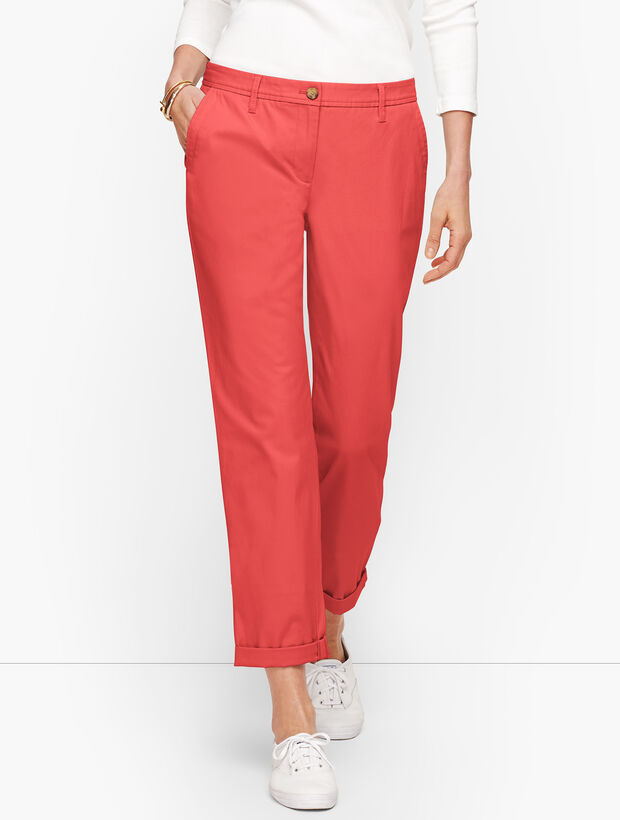 Talbots Women's Relaxed Chinos