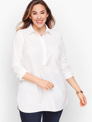Perfect Shirt - Popover Tunic - Solid