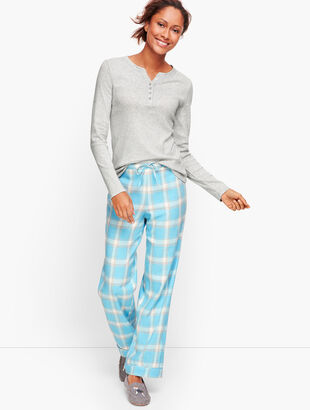 Pajama Set - Stormy Plaid