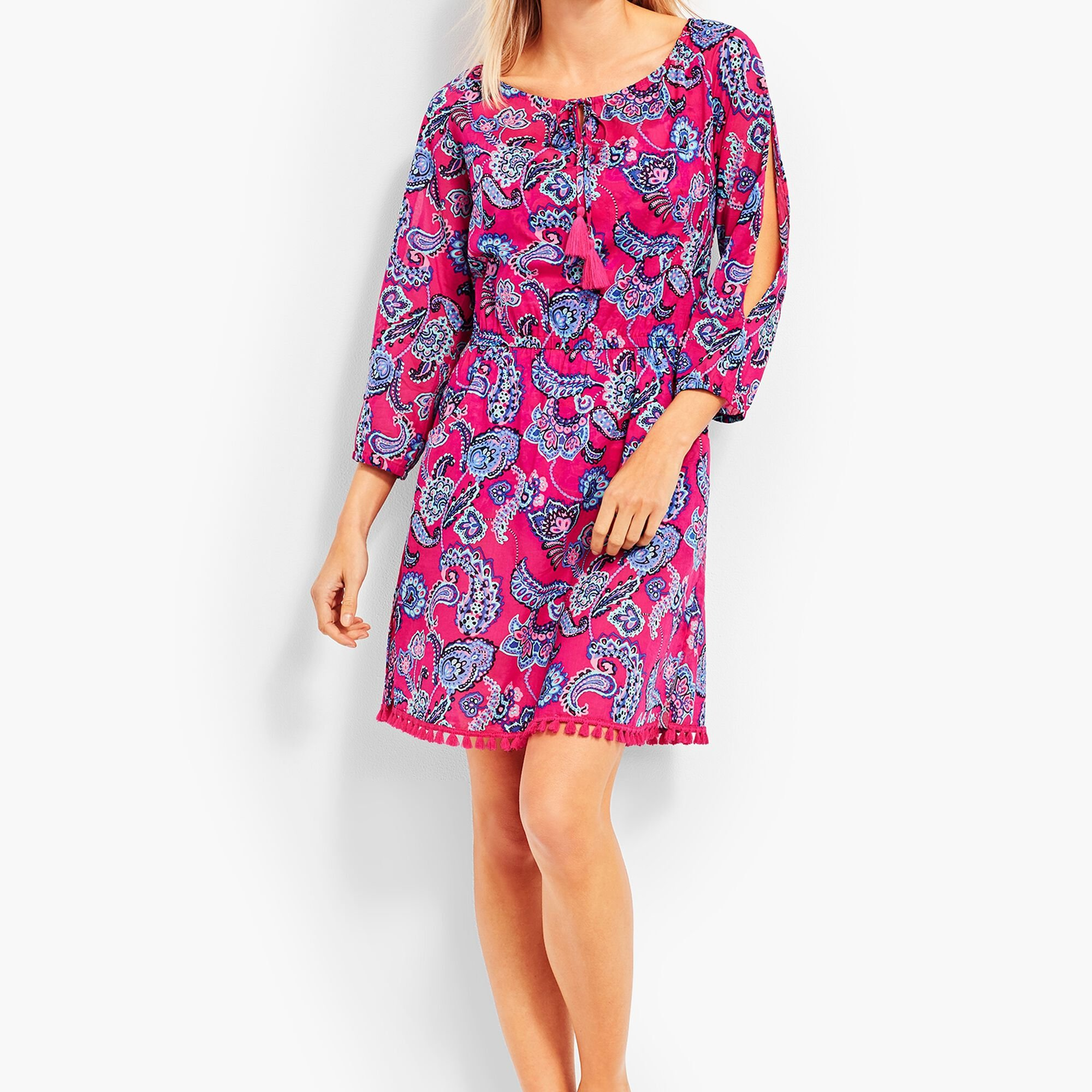 4b2284814fb68 Cold Shoulder Cover-Up-Pop Paisley Opens a New Window.