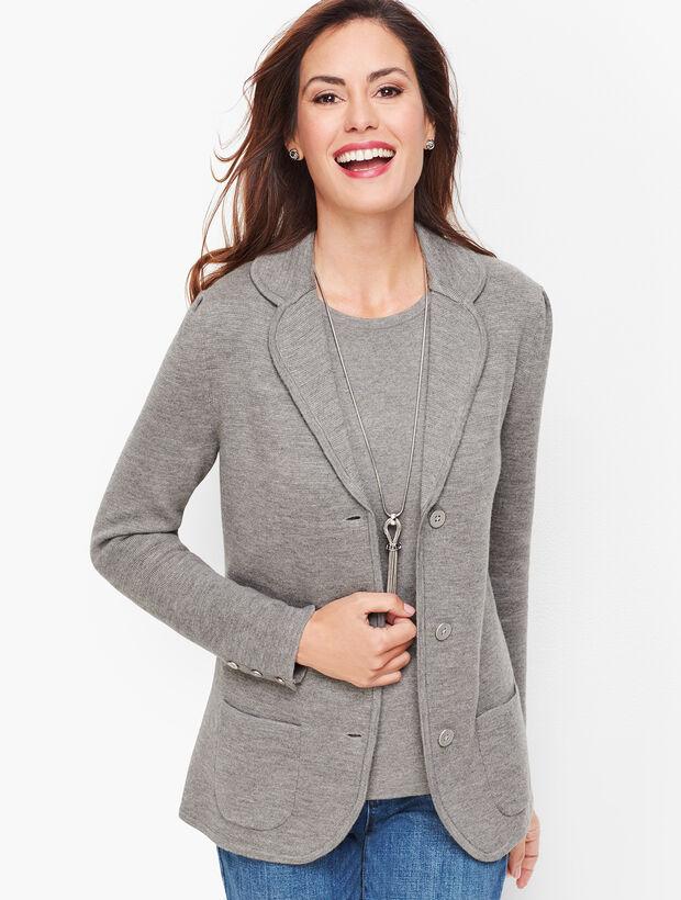 Sweater Blazer - Merino