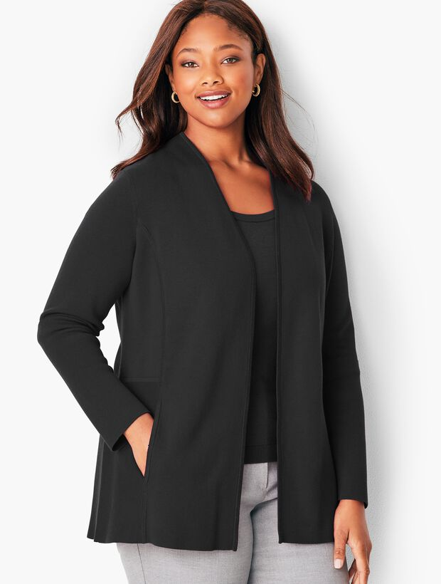 Plus Size Milano Open Cardigan