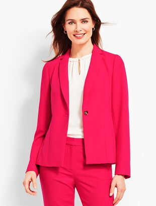 Italian Double-Cloth Blazer
