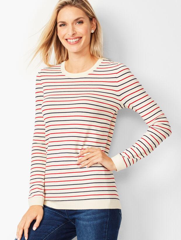 Riviera Stripe Sweater