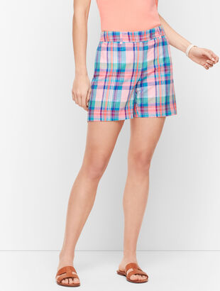 "Perfect Shorts - 5"" - Madras"