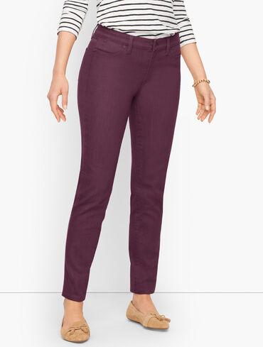 Slim Ankle Jeans - Colors - Curvy Fit