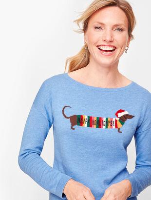 Holiday Dog Sweater