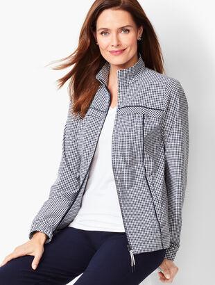 Gingham Jacket
