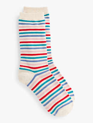 Candy Cane Trouser Sock