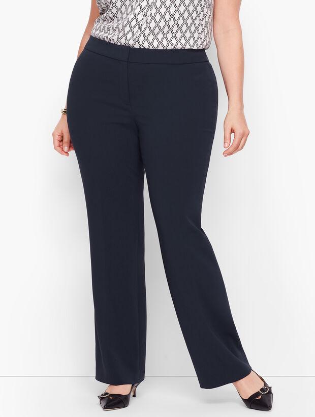 Plus Size Exclusive Easy Travel Wide Leg Pants