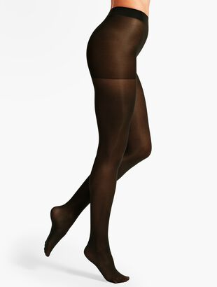 Plus Size Opaque Hosiery