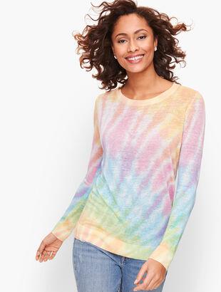 Linen Tie Dye Sweater