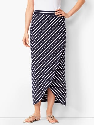 UPF 50+ Slub-Terry Maxi Skirt