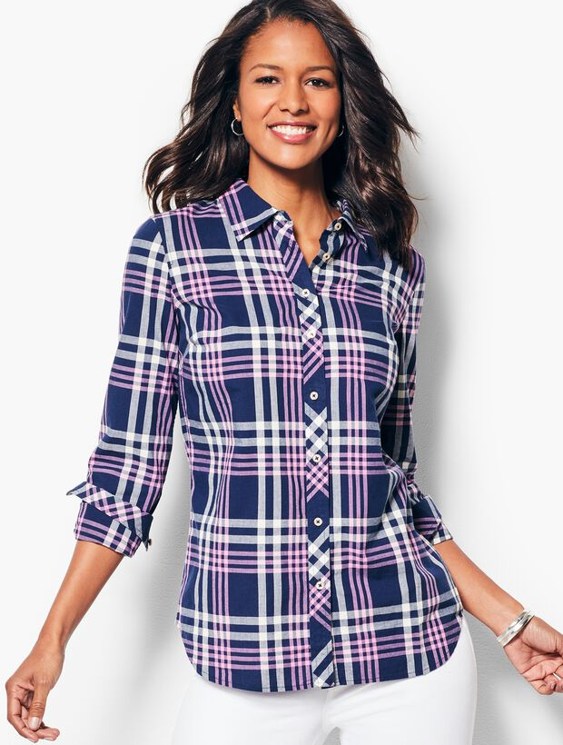 The Classic Casual Shirt - Varsity Plaid