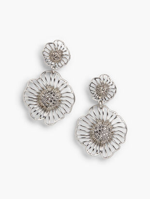 Filigree Petal Earrings