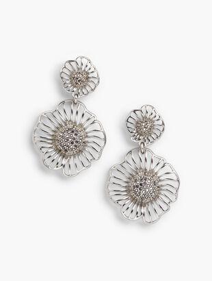 Filigree Petal Earrings