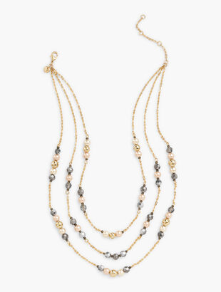 Triple Tiered Sparkle Necklace