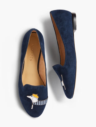 Ryan Embroidered Dachshund Loafers