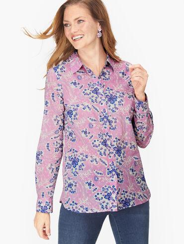 Classic Cotton Shirt - Magic Floral
