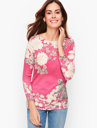 Floral Paisley Sweater