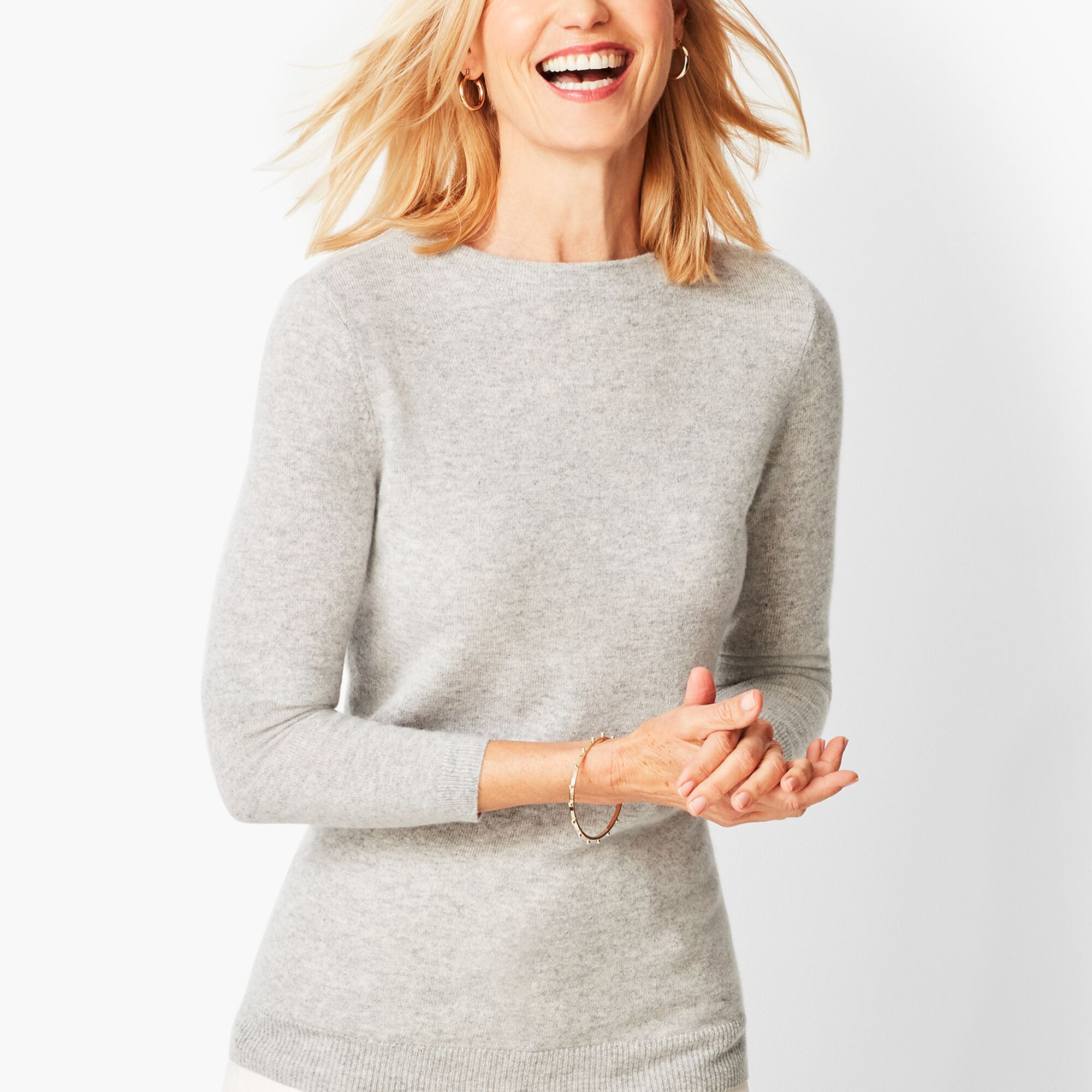 83160f6fbdd Audrey Cashmere Sweater - Solid