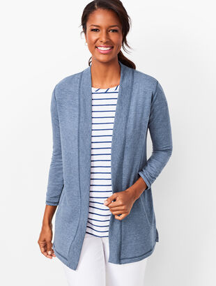 French Terry Flyaway Cardigan