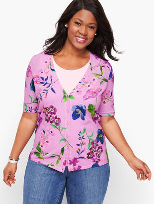 Kelly Cardigan - Botanical