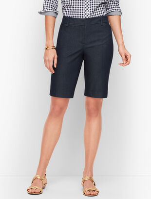 Perfect Shorts -Bermuda - Polished Denim