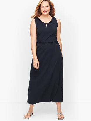 Jersey Maxi Dress- Solid