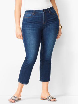 Denim Straight Crops - Element Wash
