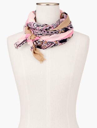 Paisley Oblong Scarf