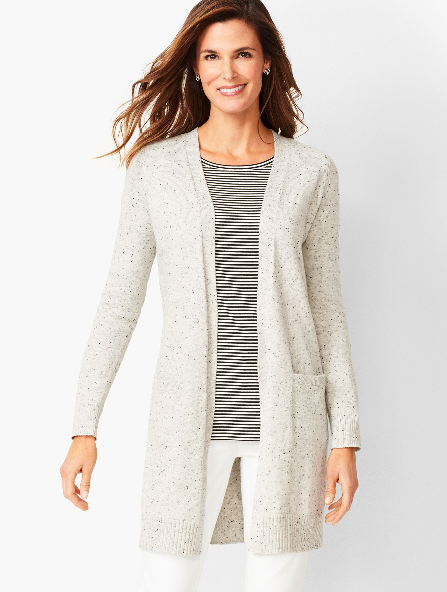 Donegal Cotton Blend Cardigan