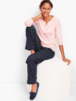 Pajama Set - Dot Print