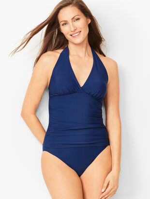 Miraclesuit(R) Halter Tankini Top - Solid