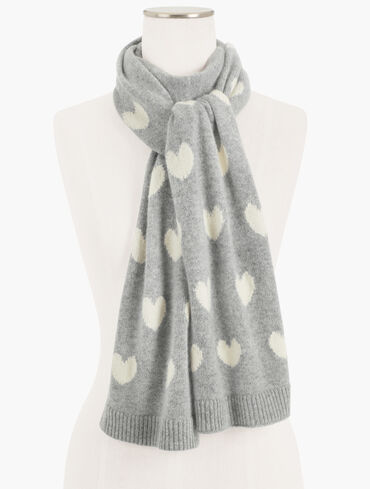 Cashmere Hearts Scarf