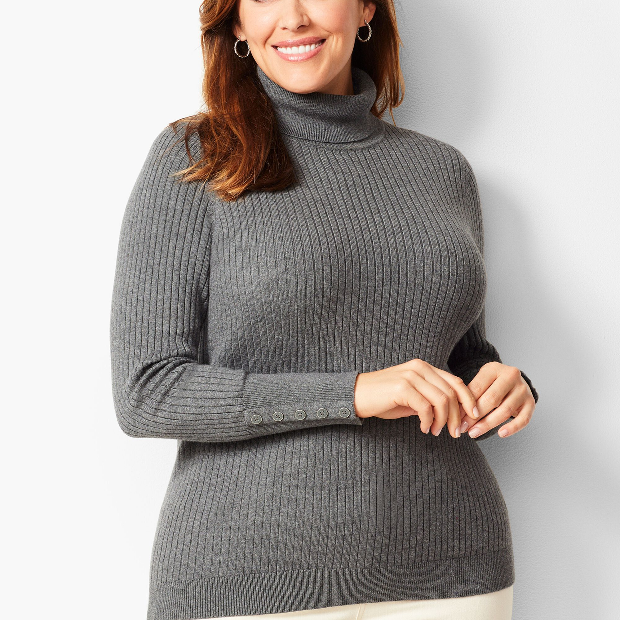 2226c33df1cf ... Ribbed Turtleneck Sweater - Solid Opens a New Window.